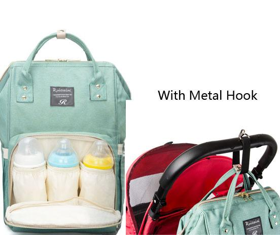 Mommy Backpacks Land Diaper Nappies Bags Outdoor Travel Bags Organizer  Mother Maternity Diaper Backpack Large Volume Multifunction Free Land  Diaper Nappies ... 29fa6f2831fb0