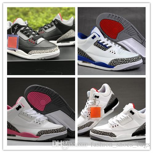 best sneakers 9d61c f8c90 Compre Hydro Iii Basketball Basket Shoes Designer Women Shoes Wholesale New  3s Sneakers Casual Shoes Moda Con Caja Envío Gratis Us 5 8 A  51.26 Del ...