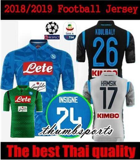 10 Free DHL!18 19 Napoli Soccer Jersey Home Blue 2018 Naples ZIELINSKI  HAMSIK INSIGNE MERTENS CALLEJON PLAYER ROG Champions League Football Jersey  Soccer ... 11e8842195db8
