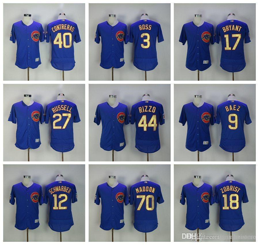 2e7082327 2019 2019 Men'S Co Cubs Bryant Kyle Schwarber Javier Baez Anthony Rizzo  Blue 2016 Gold Program Player Big & Tall 100% Stitched Baseball Jers From  Chen_shop, ...