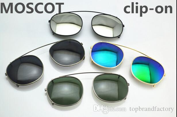 25e1116aa5 Brand Moscot Lemtosh CLIPTOSH Sunglasses Lenses Unisex Flip Up Polarized  Lens Clip On Clips Eyewear Myopia Gafas Oculos De Sol Escu Electric  Sunglasses ...