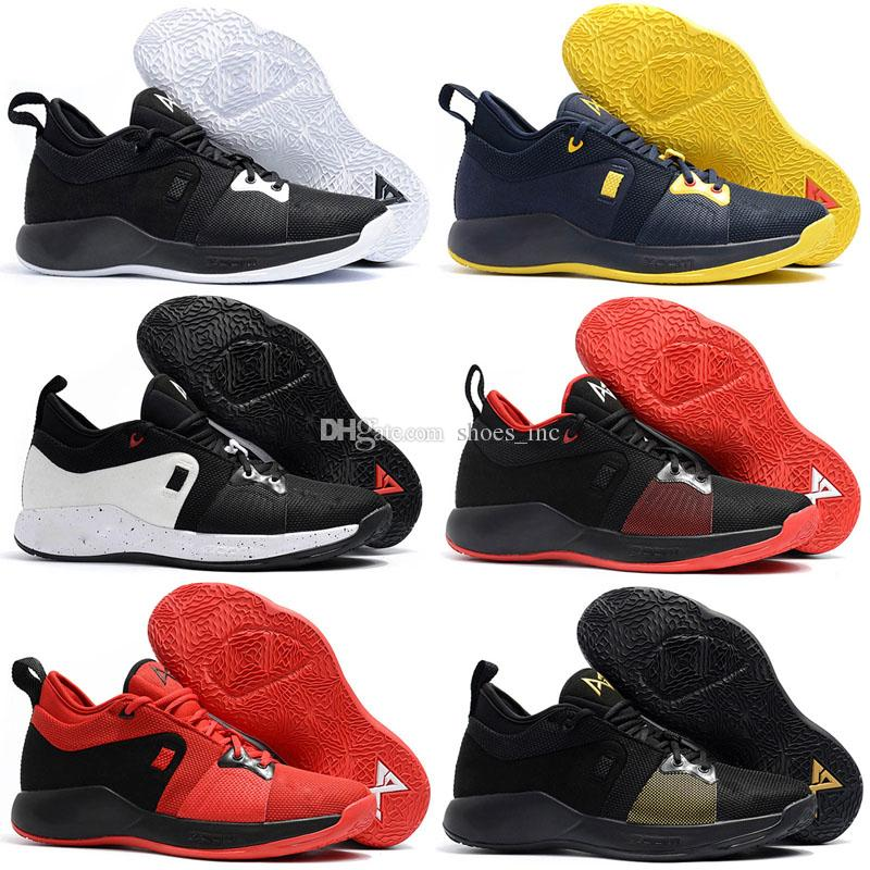 brand new 939f6 c7925 2018 Hot Sale PG2 PlayStation 2018 Top Quality Paul George PG 2 Basketball  Shoes Home Craze shoes for sale Free Sports Socks pair US7-US12