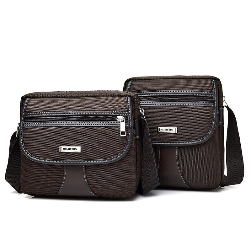 ef53262712 Vintage Men Messenger Bags Oxford Shoulder Bags Casual Zipper Male ...