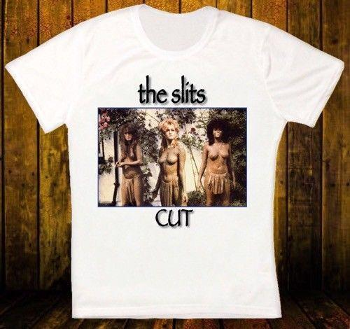 THE SLITS CUT POST PUNK ROCK RETRO VINTAGE HIPSTER UNISEX T SHIRT 1821 Brand Cotton Shirt Summer Style Cool Shirts
