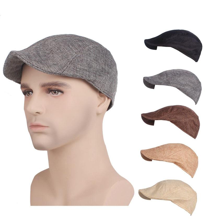2a0a8e10a18 Brand Designer Winter Beret Mens Women Hat Baker Boy Casual NewsBoy ...