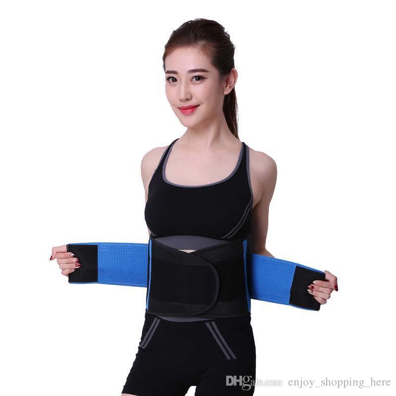 Femmes de haute qualité Taille réglable cinchers Corset taille formateur Trimmer Ceinture Body Fitness Shaper Retour Support pour un sablier Shaper