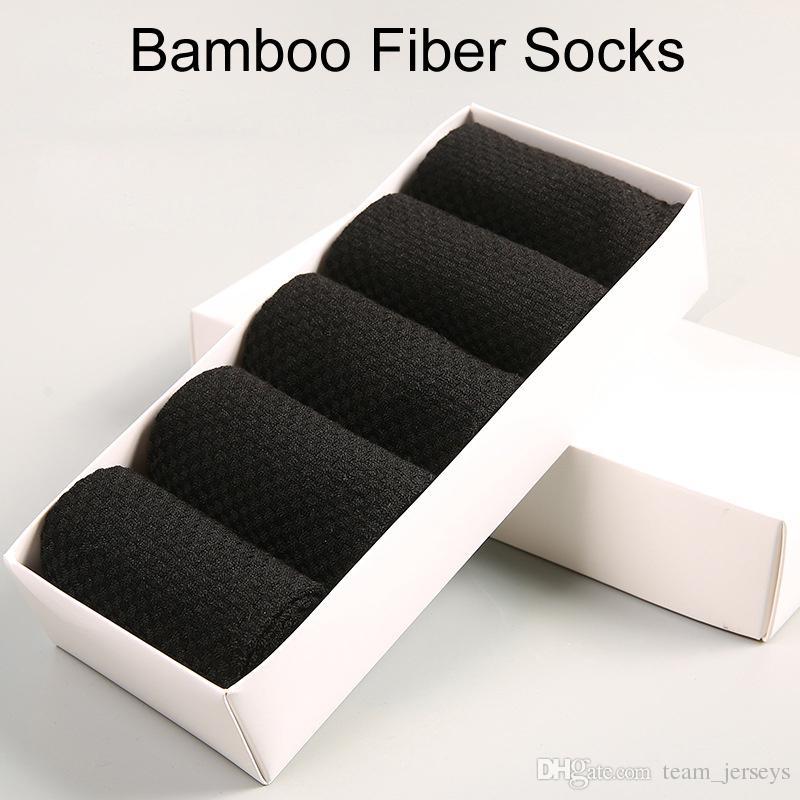 0b55484fc1 Men Socks Cotton Bamboo Fiber Classic Business Men s Socks Deodorant ...