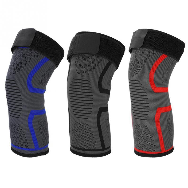 21571b48be 2019 Knee Brace Breathable Elastic Woven Nylon Knee Support Pads Leg Sleeve  Compression Support Protector Sports Safety From Teawulong, $34.05 |  DHgate.Com