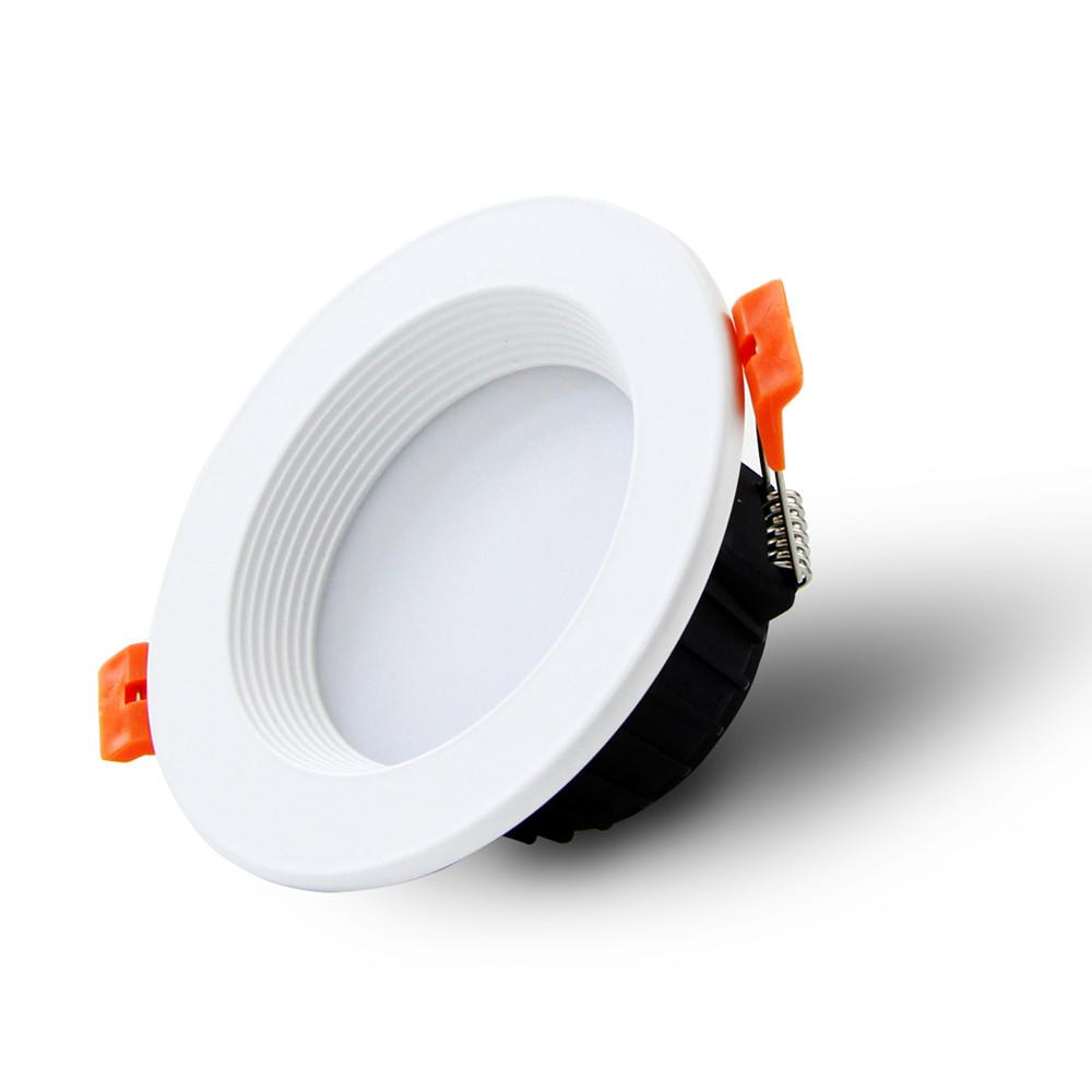 [DBF] AC85-265V Downlights à LED 7W 10W Downlight à LED 12W Blanc chaud / blanc froid Plafonnier Led Plafonnier Éclairage Intérieur