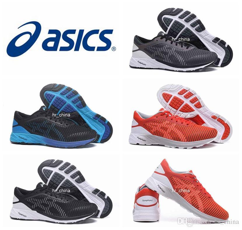 e8b204c56ba Compre 2018 Asics DynaFlyte 2 Zapatillas Para Hombres Al Por Mayor De  Calidad Superior Del Amortiguador Botas Asics Gel Lyte Zapatillas  Deportivas Atléticas ...