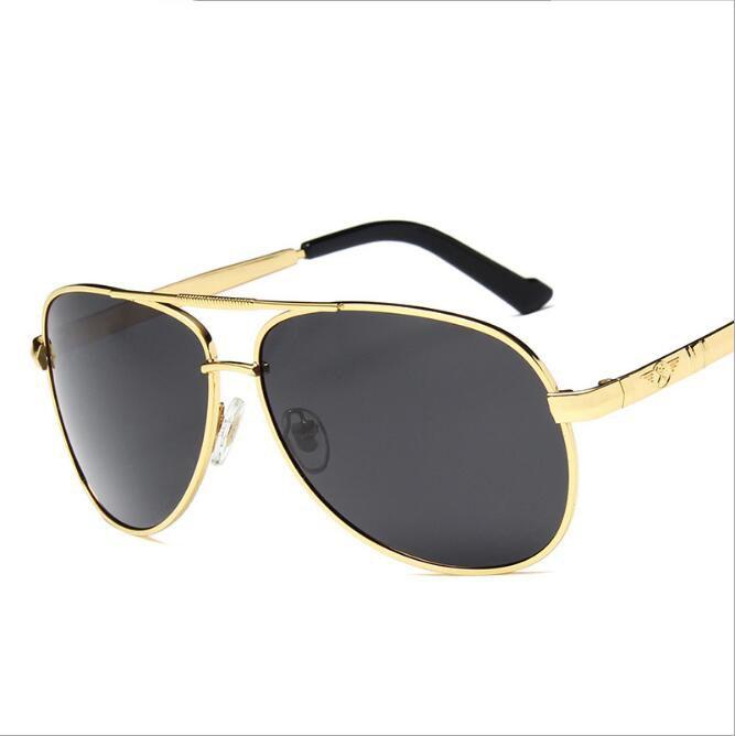 be0a272d3dd Men Vintage Metal HD Polarized Sunglasses Classic Brand Sun Glasses UV 400  Lens Driving Shades For Men Women Cheap Sunglasses Mens Sunglasses From ...