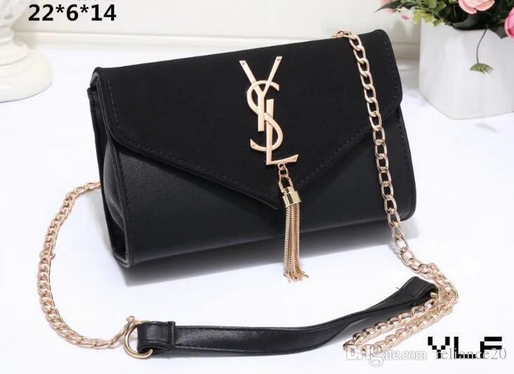 Designer Women Handbags Luxury Famous Brand Bag Pu Leather Chain ... 600bd6e954b0a