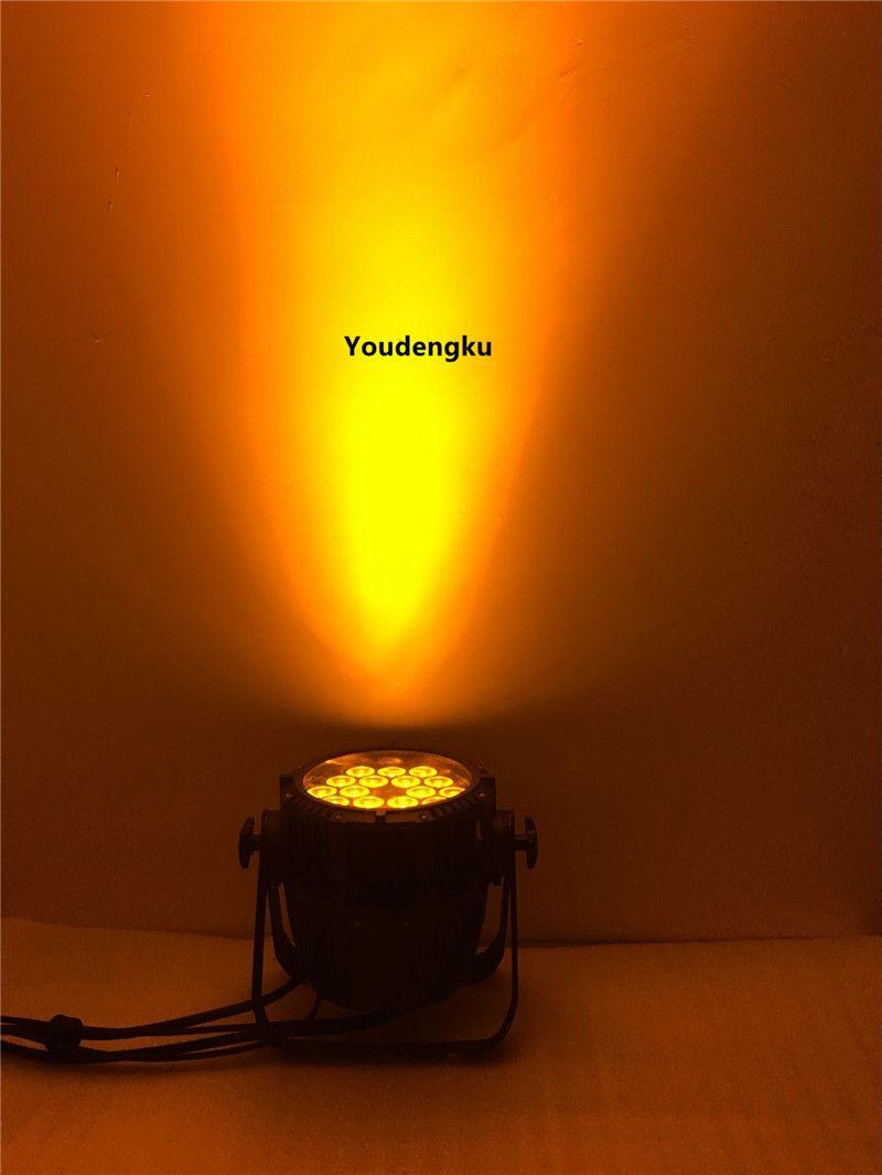 18x15w resistente al agua par 64 led rgbaw al aire libre led luz par 15w led par