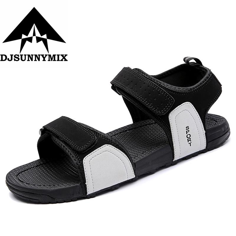 73082f956a03 DJSUNNYMIX Summer Fashion New Style Men Sandals Comfortable Breathable Casual  Sandals Shoes For Men Brand Men s Sandals Cheap Men s Sandals DJSUNNYMIX ...