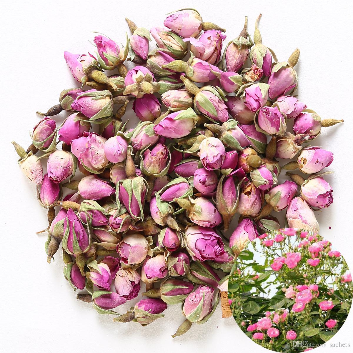 2018 Fragrant Natural Pink Rose Buds Rose Petals Organic Dried Rosa