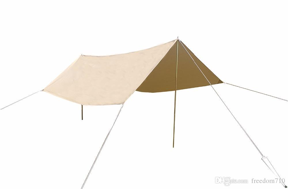 DANCHEL Cotton Fabric Sun Shade Awning With Pole And Ropes For Bell Tent Screen Tents Outwell Tents From Freedom710 $222.09| DHgate.Com  sc 1 st  DHgate & DANCHEL Cotton Fabric Sun Shade Awning With Pole And Ropes For Bell ...
