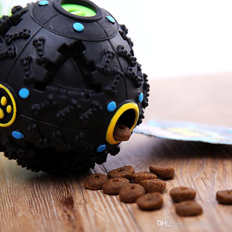 2018 petcircle الساخن الصوت تسرب الغذاء الكرة الكلب لعبة الحيوانات الأليفة التدريب صار الضحكة مشعوذ الصوت التدريب لعبة مضغ الكرة دعم انخفاض الشحن