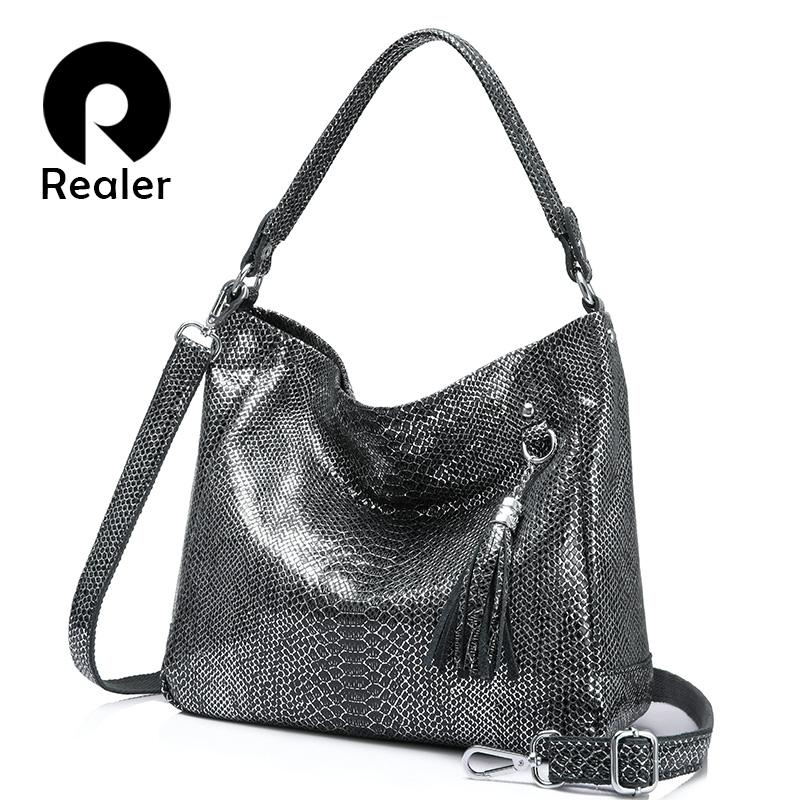 Wholesale Genuine Leather Shoulder Bags Luxury Handbags Women Bags Designer  Female Tote Bag Serpentine Prints High Quality Big Backpack Purse Bags For  Men ... a89b2586e4ce9