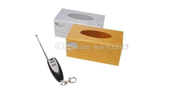 Remote control Tissue box pinhole camera 4GB 8GB tissue box mini DV DVR Home security surveillance cam Support motion detection