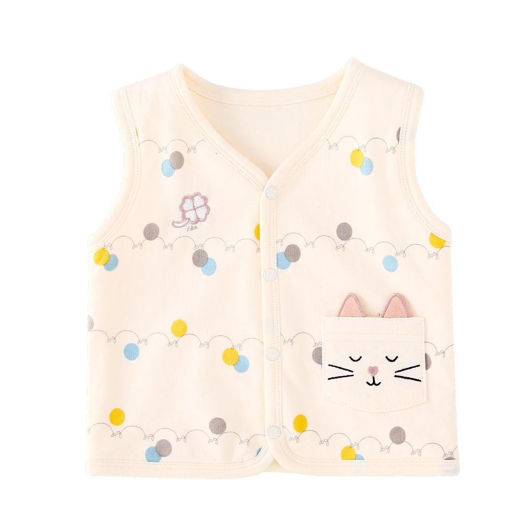 bda8ee890 Pureborn Baby Vest Coat Cartoon Animal Baby Boy Girl Tops Clothes ...