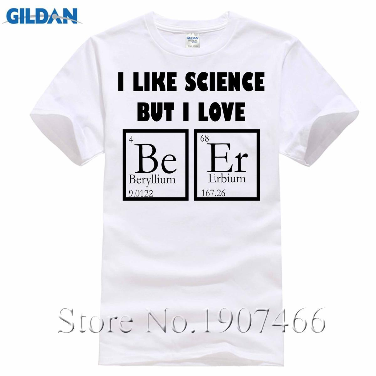 Prime I Like Science Beer Funny T Shirt Periodic Table Parody Geek Party Tee S 4Xl T Shirt Short Sleeve Fashion T Shirt Home Interior And Landscaping Ferensignezvosmurscom