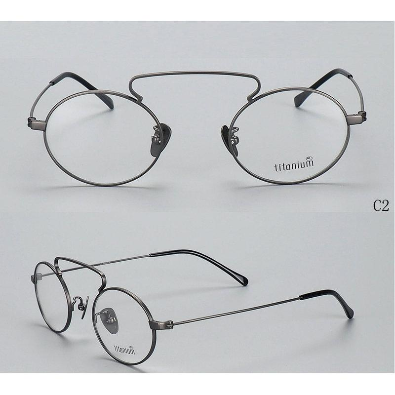 Compre Titânio Puro Super Leve Redondo Estilo Coreano Óculos De Armação  Miopia Óptica Presription Espetáculos Quadros NX De Shuidianba,  83.54    Pt.Dhgate. fe7efa7a2f
