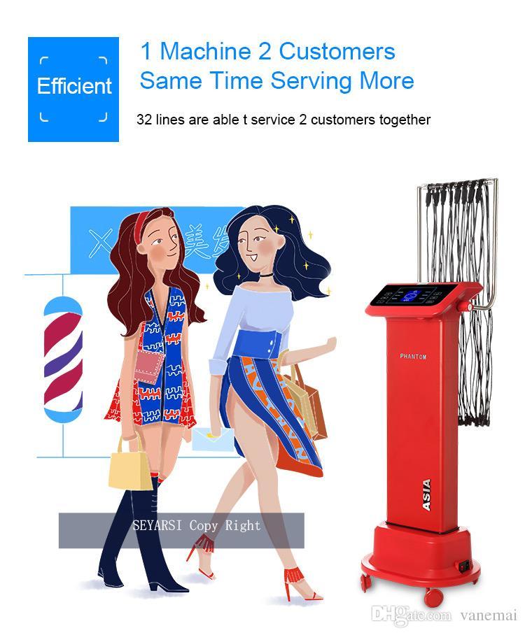 Macchina i perm digitali dei capelli, la macchina capelli usa l'uso del salone, uscita 24V con barre relative ai capelli gratuiti