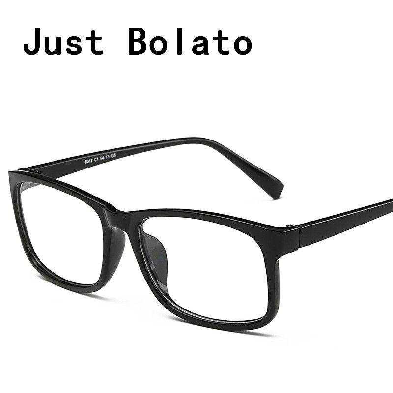 Großhandel Neue Quadratische Brillen Rahmen Männer Brillen Schwarz ...