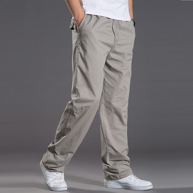 f36f65d81 2019 2018 New Spring Summer Casual Pants Men Cargo Pants Cotton Loose Trousers  Mens Pants Overalls Fashion Super Large XL 6XL 422 Y1892801 From Tao01
