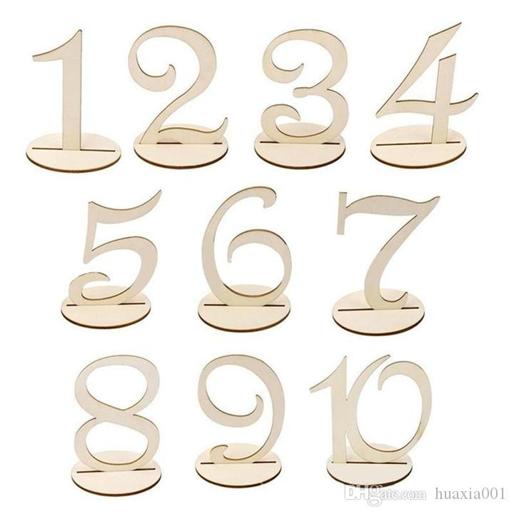 Table Numbers Wedding.1 20 Mdf Wooden Table Numbers Wedding Party Supplies Table Numbers With Round Holder Base Table Number Tag Stand