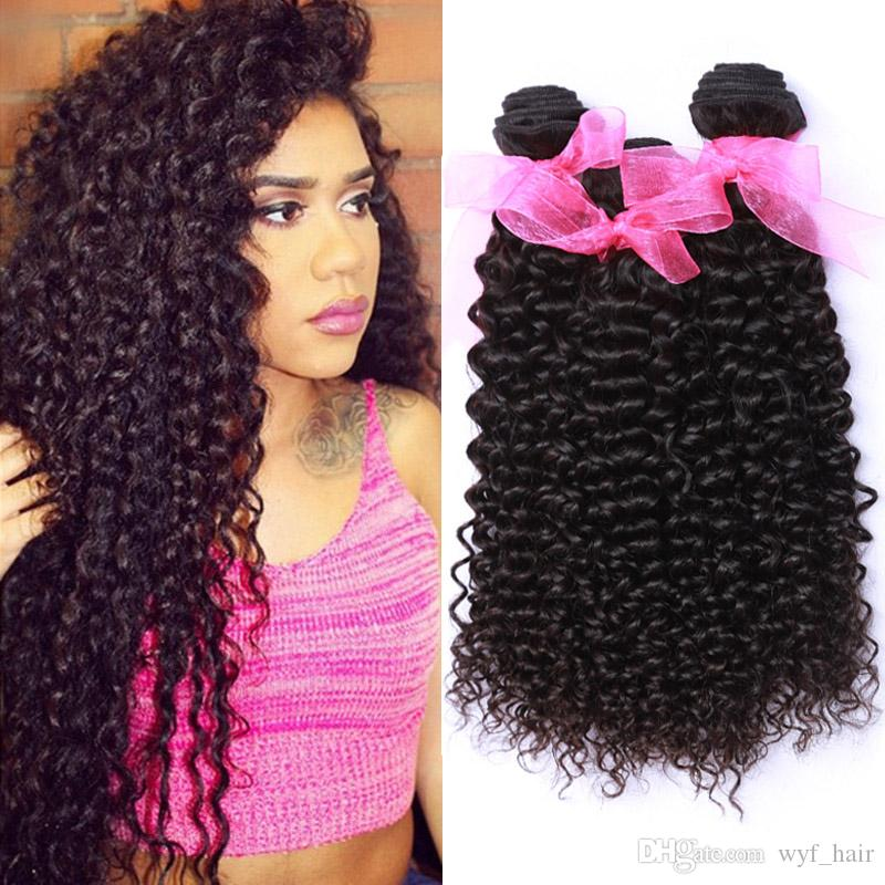 Indian Curly Virgin Human Hair Bundle Unprocessed 8a Raw Indian Deep