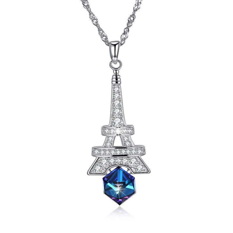 9f68db46055fe 925 Sterling Silver Swarovski Crystal Pendant - Pendant Design Ideas
