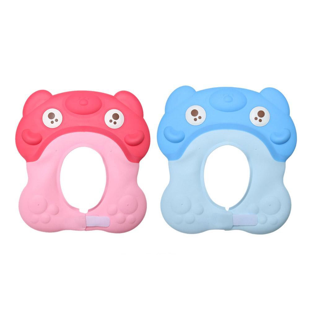 c45df295bd2 Adjustable Baby Child Kids Shampoo Bath Shower Cap Hat Wash Hair ...