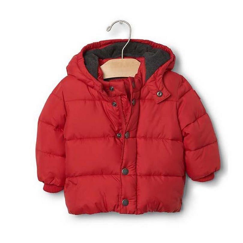 2ac48cf93 Warm Winter Baby Boy Jacket Hoodies Girls Baby Boy Outwears New Year ...