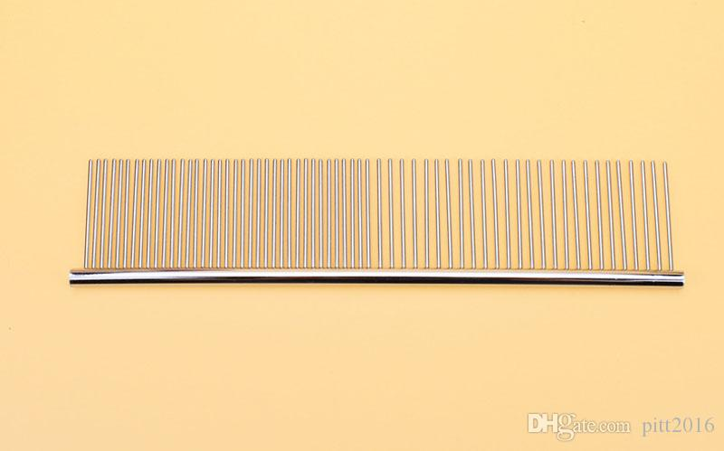 Pet Cat Grooming Comb For Chihuahua Shaggy Dogs Barber Grooming Tools Long Thick Fur Removal Brush ZA3784