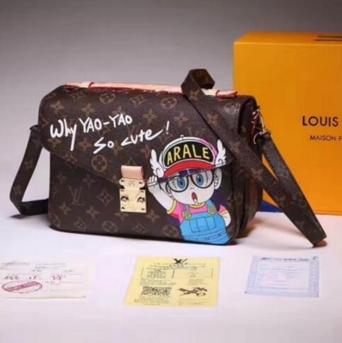 POCHETTE METIS M40780 HANDBAG MESSENGER CLUTCH BAG Hobo HANDBAGS TOP  HANDLES BOSTON CROSS BODY MESSENGER SHOULDER BAGS Red Handbags Pink Handbags  From ... d0f4b10f70b24