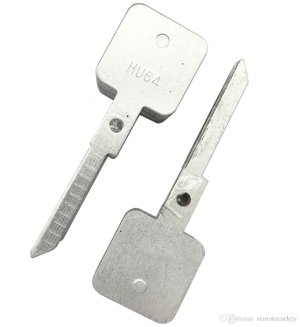 Lishi HU64 Slave Key Blade for 2 in 1 Car Door Lock Pick Decoder Unlock Tool Lock Picks