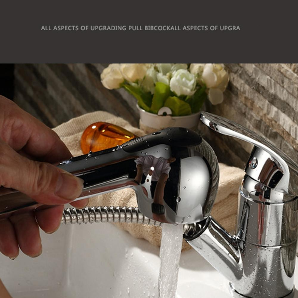 2018 Dofaso Kitchen Faucets Swivel Romovable Pull Out Down Water ...