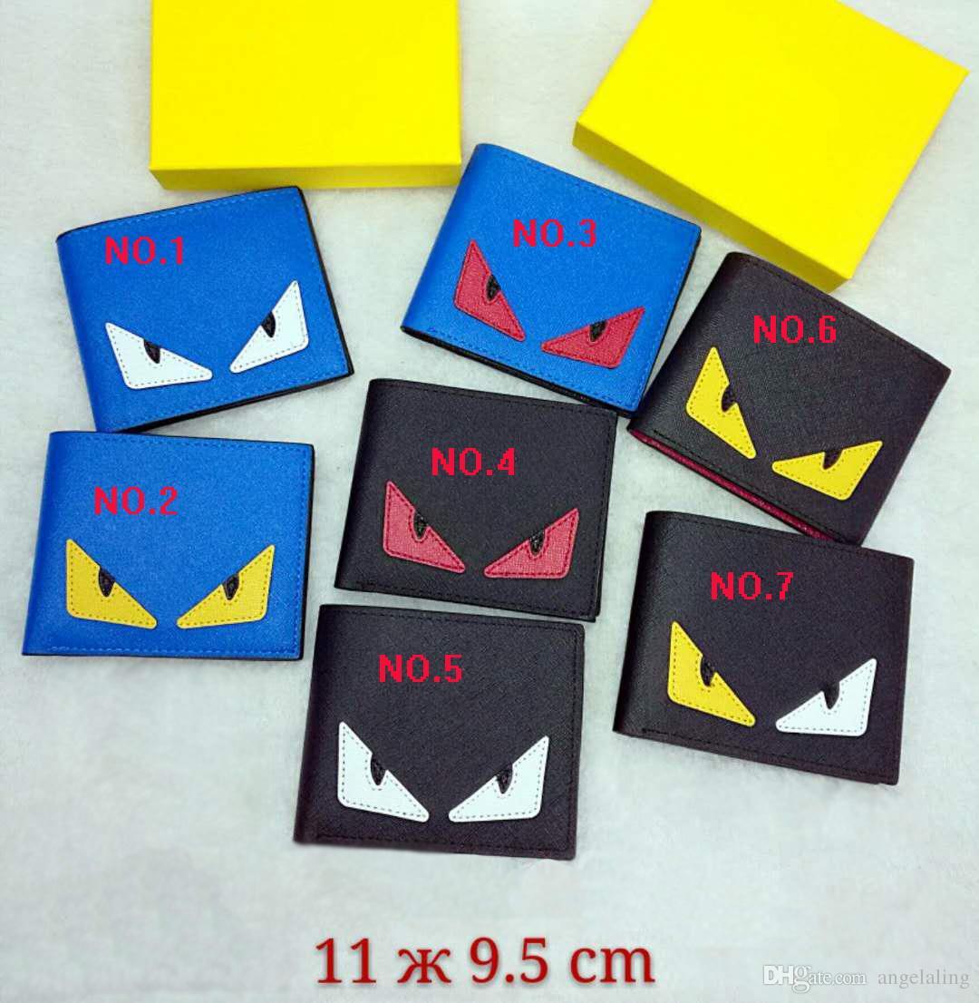 Alta qualidade de couro pu moda cross-wallet carteiras de designer de carteiras dos homens saco de bolso estilo Europeu marca bolsas com caixa com caixa