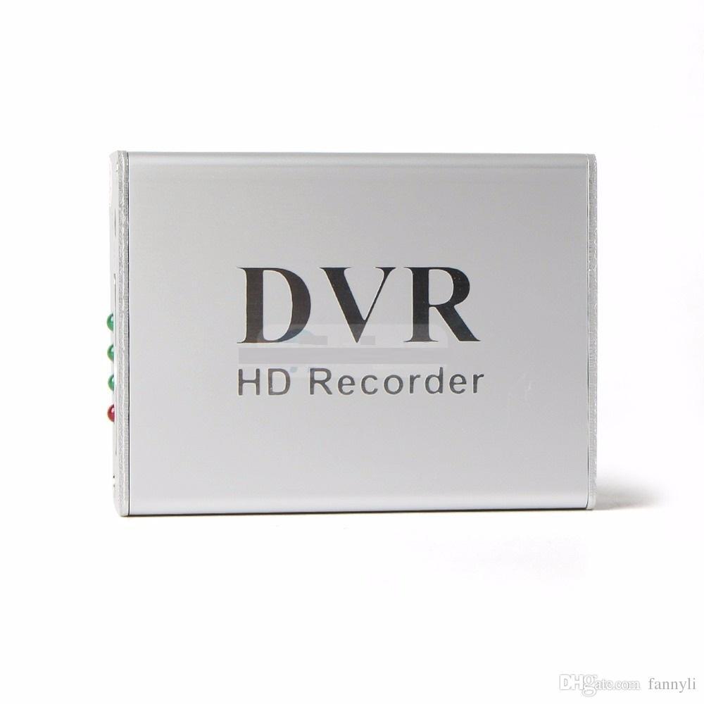 Yeni 1Ch Mini DVR Destek SD Kart Gerçek zamanlı Xbox HD 1 Kanal cctv DVR Video Kaydedici Kurulu Video Sıkıştırma Renk Beyaz