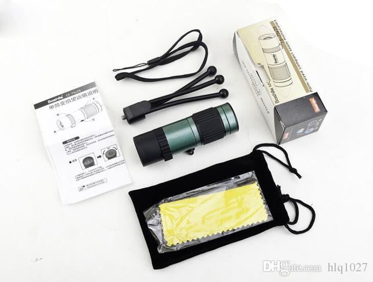 Original Reise Fernglas 15-75x25 HD Flexible Fokus High Power Mini Monocular Zoom Teleskop Für Camping Kostenloser Versand