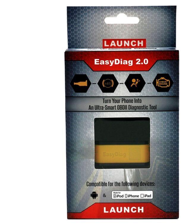 Original Launch X431 Code Reader Scan Tools EasyDiag 2.0 für iOS Android 2 IN 1 Auto-Diagnosewerkzeug Bluetooth OBDII OBD2