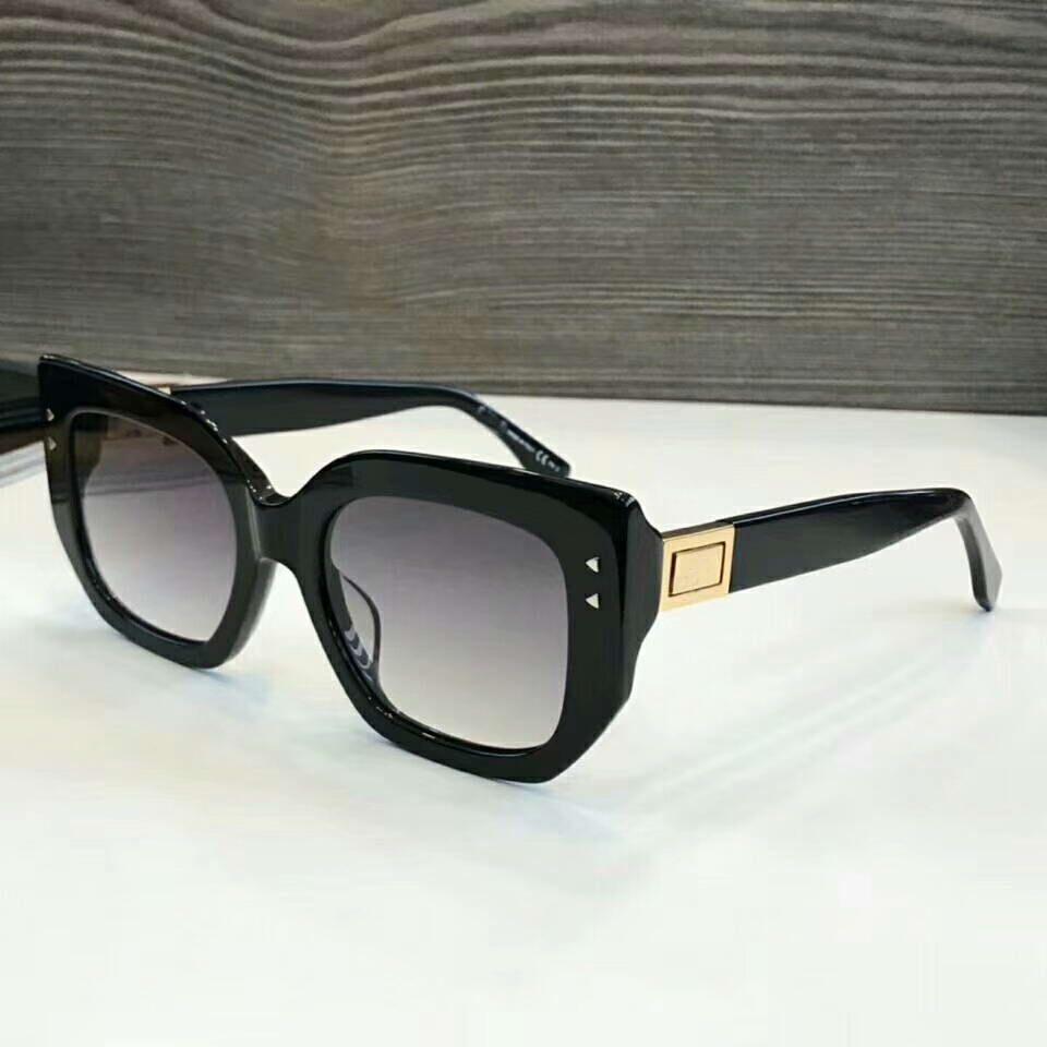 da0d58ee7c60 Square Ladies PEEKABOO Sunglasses 0267 S Gold black Women Luxury ...