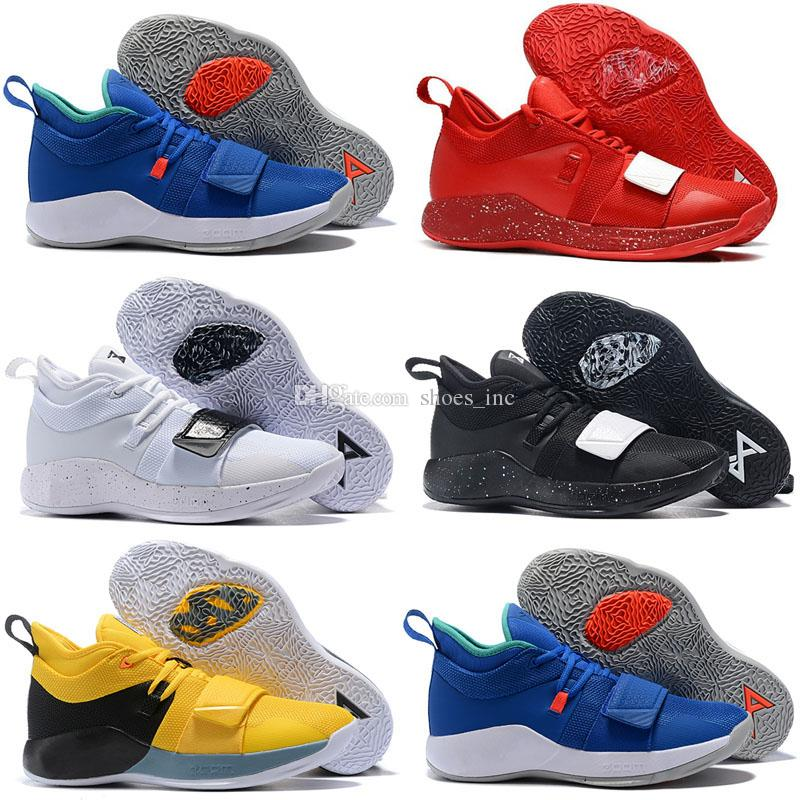 sale retailer 416bc 2f0a7 2018 New Arrive Actual Combat Version PG 2.5 PlayStation Taurus Road Master  Basketball Shoes Paul George PG2.5 PS Sport Sneakers Size 40-46