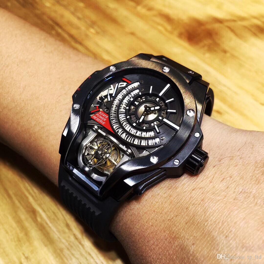 b54bce1e2ffc Compre Reloj Especial De Moda Para Hombre Reloj Duro Relojes Automáticos  Banda De Goma Relojes Envío Gratis HB A  472.09 Del Tp ltd