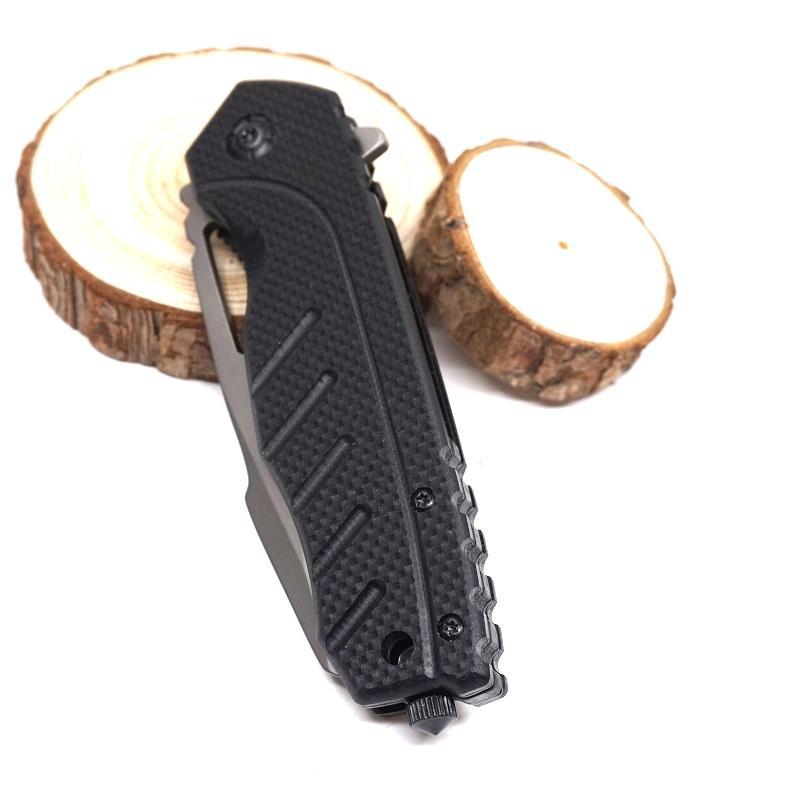 Überlebens-Messer-Taschen-faltendes Messer 3CR13MOV-Blatt-Holzgriff-Schneidwerkzeug taktisches Jagd-Messer Bestes Gife