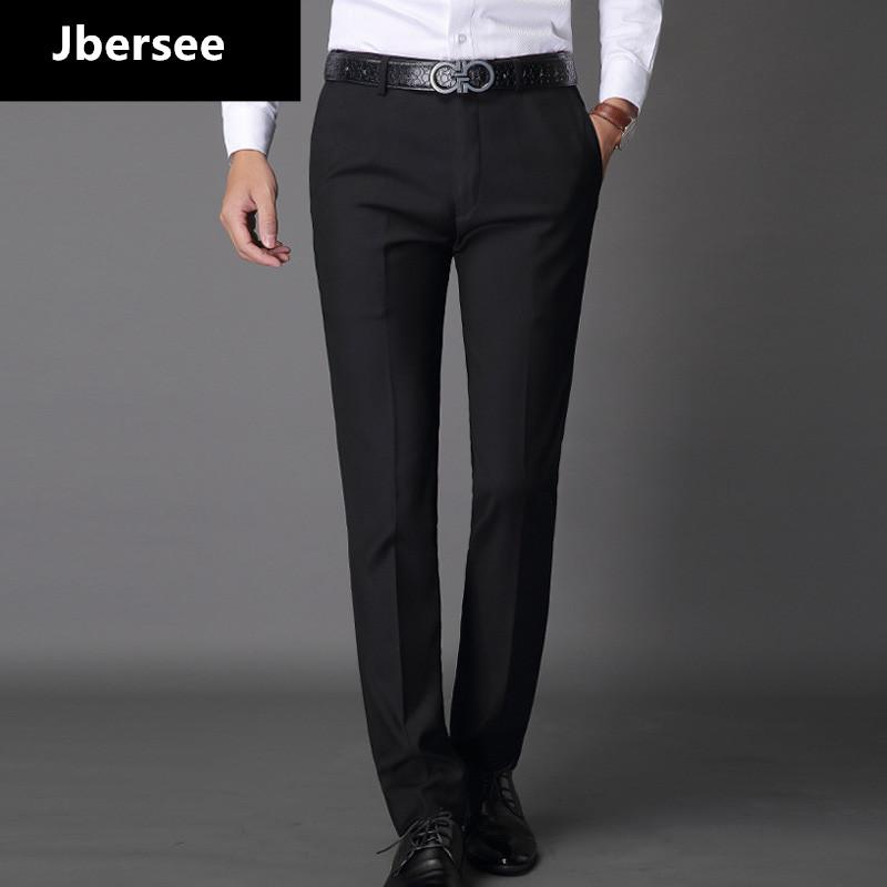 589c72dcd3b 2019 Jbersee Mens Suit Pants Fashion Dress Pants Formal Business Male Casual  Long Trousers Slim Fit Male Wedding Dress Mens Suit From Merrylady