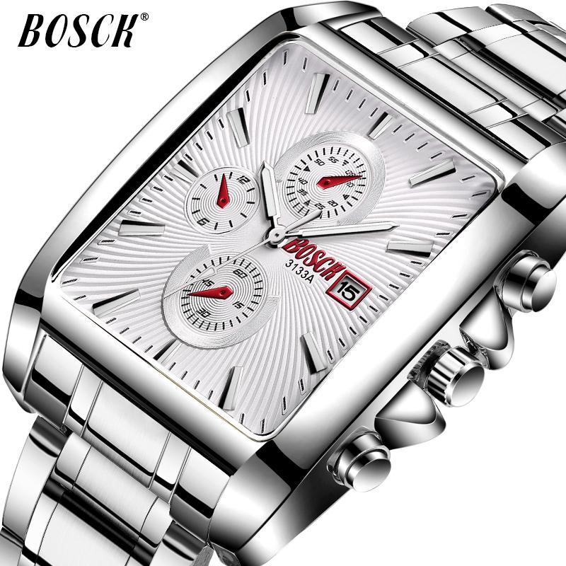 4e936ebf42c BOSCK Fashion Men Watches Top Brand Luxury Quartz Watch Men Casual Slim  Mesh Steel Date Waterproof Sport Watch Relogio Masculino Couple Watches Buy  Clothes ...