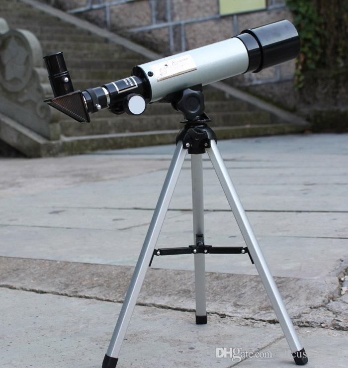 MOQ is 1 pc Astronomical telescope F36050 HD high 90x aluminum tripod for children's day gift