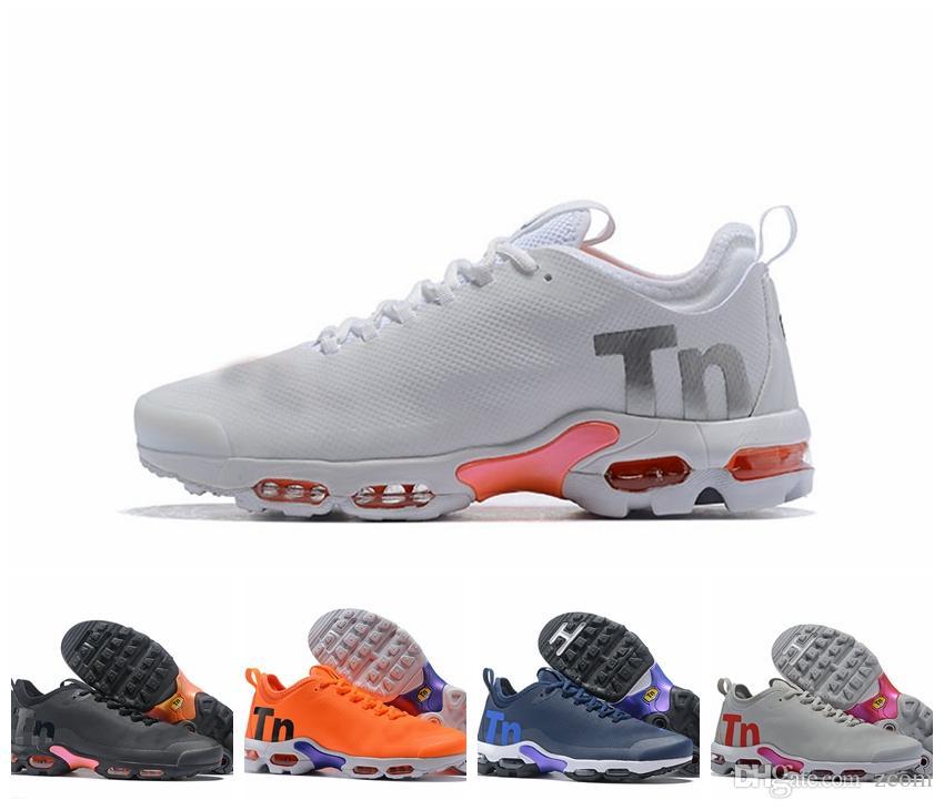 1e429073e6 2018 New Mercurial Plus Tn Ultra SE Black White Orange Running Shoes Brand  Luxury Designer Women Mens Sports Chaussures Tns Trainers 36 46 Shoe  Shopping ...